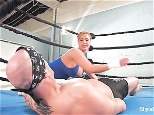 huge-chested towheaded Shyla Stylez does some xxx instructing