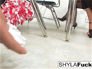 student Shyla Gets pulverized