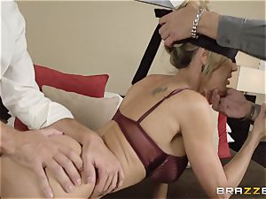 The husband of Brandi love lets her screw a different boy