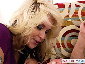 voluptuous Sarah Vandella licked out and boinked