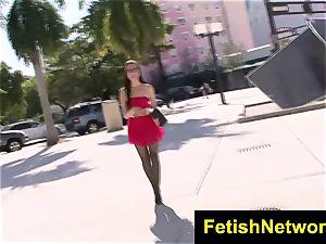 FetishNetwork Roxanne Rae stockings slut