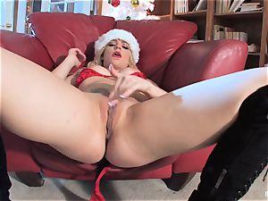Bailey Blue is Santa's wild tiny hel