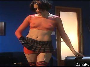 Dana DeArmond pummels Naudia Nyce's sphincter