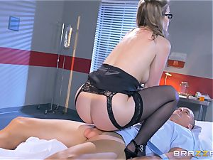 wild doctor Sunny Lane gets hold of her favourite patient