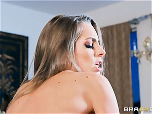 Kimmy Granger arched over and drilled firm