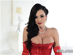 super-hot immense melon Ariella Ferrera Interview
