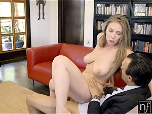 fortunate guy Gets perfect bod Lena Paul For Night S7:E3