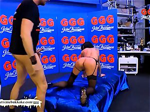 double penetration Warm-up with Stella starlet