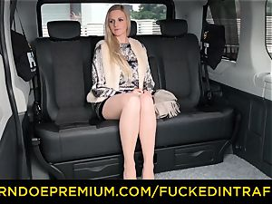 torn up IN TRAFFIC - light-haired princess boned deep