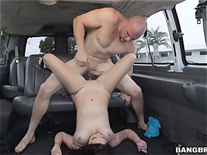 Karlee Grey picked up and jammed on the Bangbus
