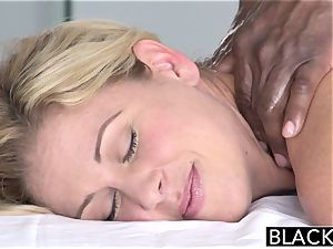 BLACKED red-hot Southern ash-blonde Takes ample ebony dick