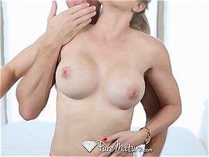PureMature cougar Cory chase smashed after run in the park