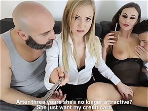 LOS CONSOLADORES - super-hot swinger fourway with super-hot babes