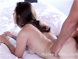 Nubiles casting - gonzo pornography audition for beginner