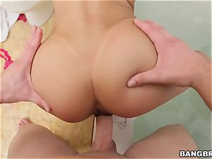 Veronica Rodriguez drilled doggie-style