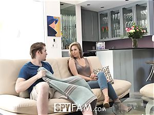 SpyFam Step sister Lena Paul fucks step bro