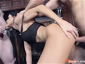 India Summer sprayed wth two lots of jizz
