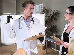 Aaliyah enjoy and Veruca James get insatiable at the surgery