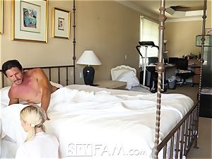 SpyFam Step daughter-in-law Piper Perri pound and creampie