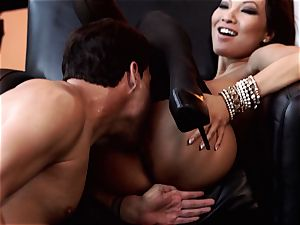 Nylons Sn 1 Asa Akira shafted in beautiful tights