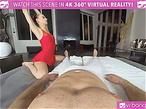 VRBangers.com limber Jill Will open up Her yummy fuckbox