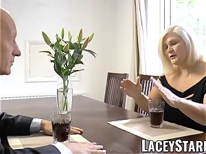 LACEYSTARR - horniest grandmother analled before jizz flow