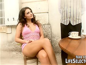very first fucky-fucky, insatiable wishes with the super-sexy Aletta Ocean