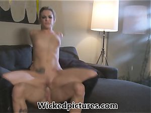 Rampant role have fun for Bailey Blue and a red-hot boy