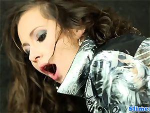 WAM female domination all girl pusyfucking at the gloryhole