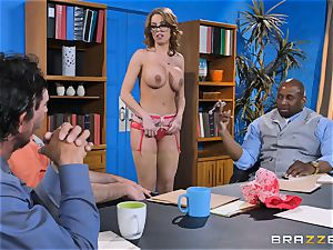 Britney Amber getting gang penetrated