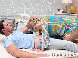 Dane Jones giant knockers Scottish light-haired Georgie Lyall