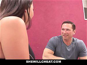 SheWillCheat cheating gf Karlee Grey fucks Trainer