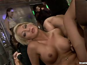 Bibi Fox with ultra-cutie pals packed with super-fucking-hot cum