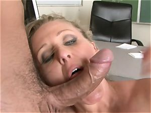 Julia Ann is a xxx mummy who wants to put her cooter on a rock-hard man-meat