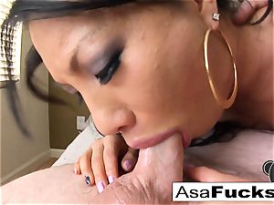 pornstar Asa Is Known For Her dirty BJs