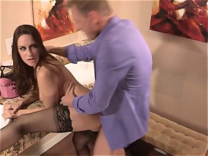 Cassidy Klein gets her pussy submerged deep with boner