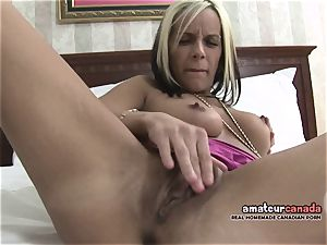lean french Canadian stunner homemade pornography fingers vag