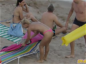 torrid without bra milfs ginormous boobs - unexperienced hidden cam Beach video