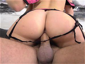 Maddy OReilly rammed total in her underwear